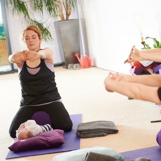 Mum and Baby Postnatal Yoga Leeds