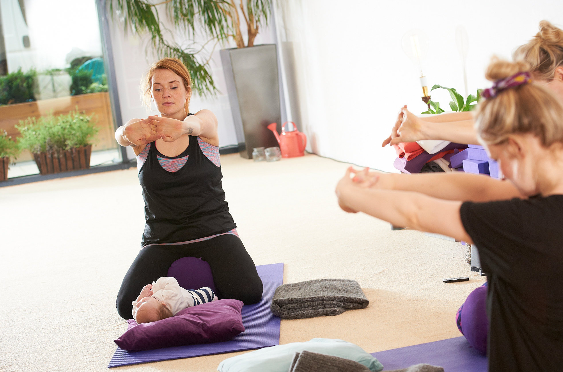 Mum and Baby Postnatal Yoga Leeds