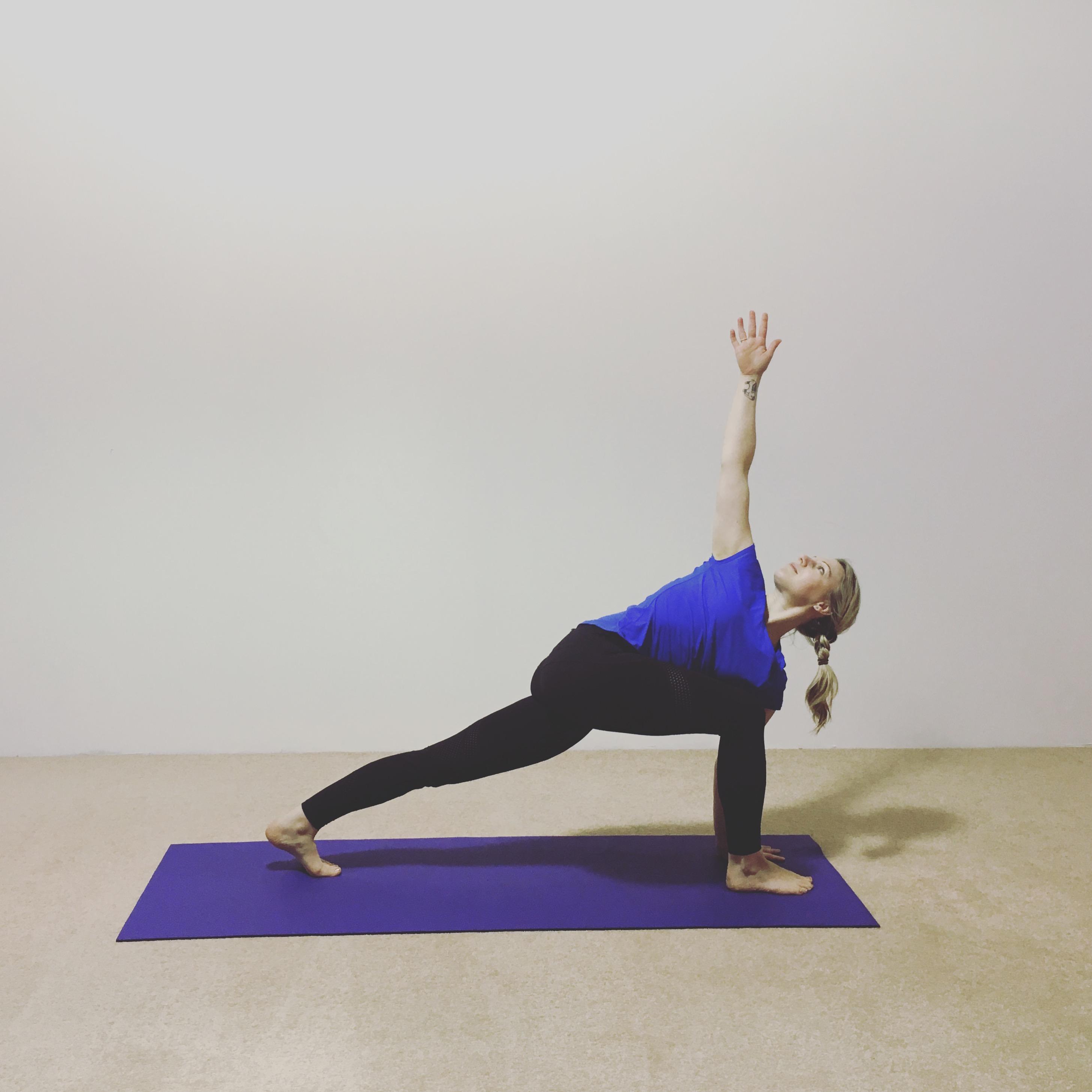 Parivritta Parsvakonasana Leeds Dock Yoga