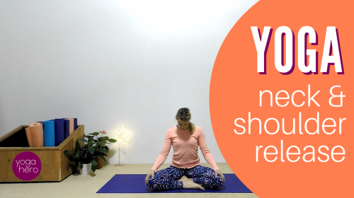 10 min neck and shoulder yoga release yoga video