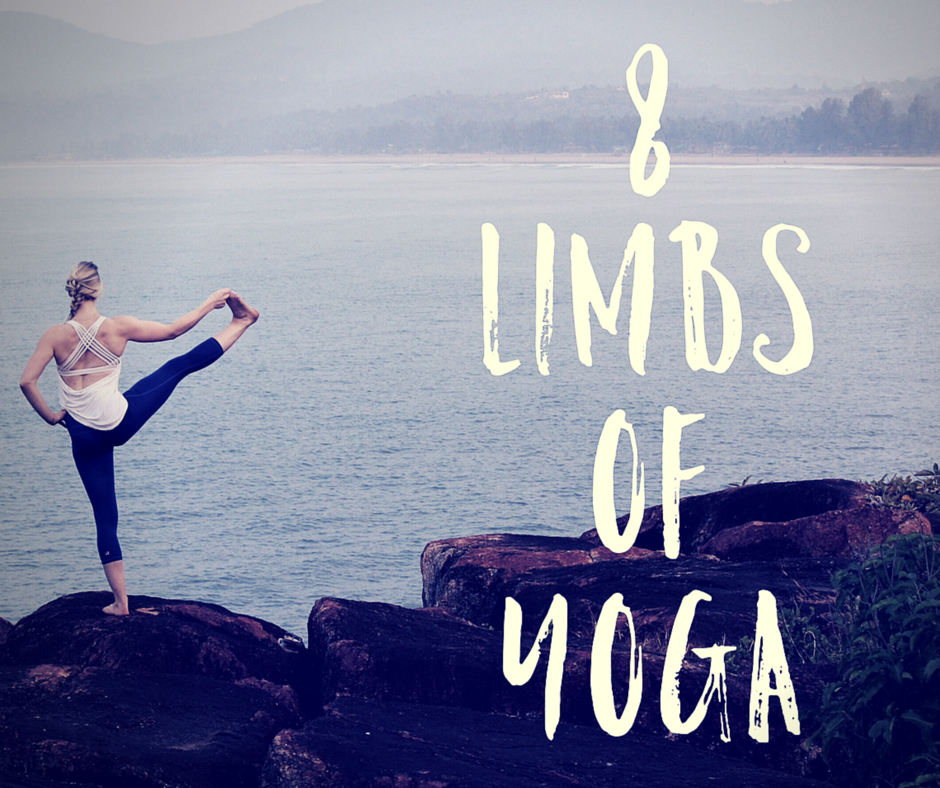 Eight 8 limbs of Ashtanga Yoga