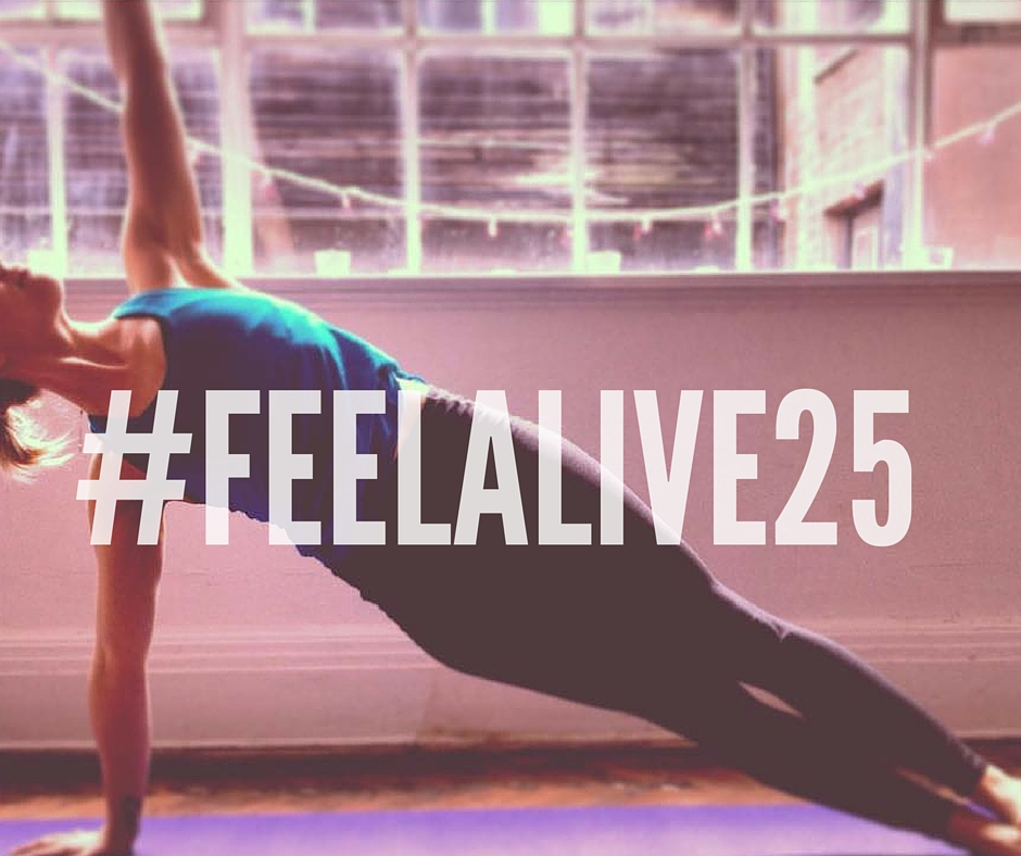 Feel Alive 25 Yoga Challenge