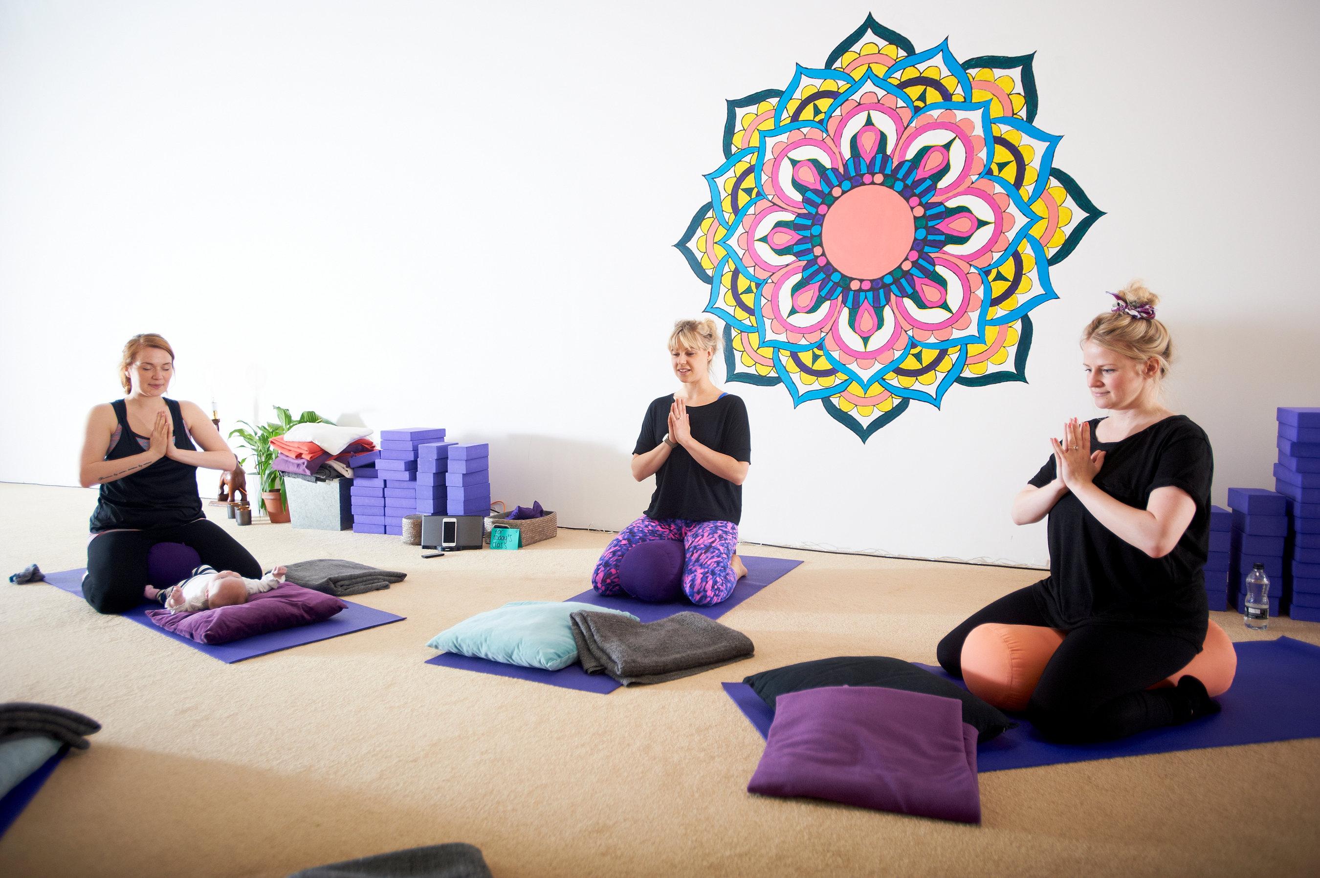 Mum & Baby Yoga Leeds