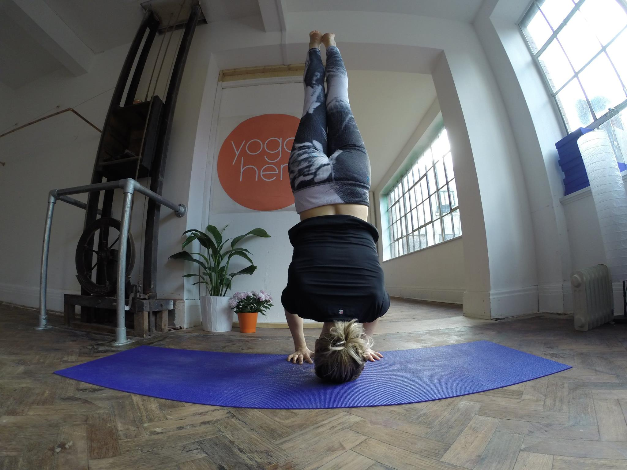 Inversions and Arm Balances Headstand