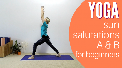 Sun Salutations A and B Yoga for Beginners