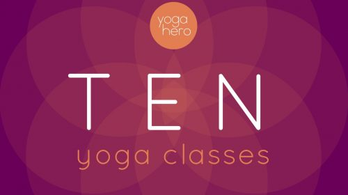 Yoga Hero Gift Voucher Ten Class Pass