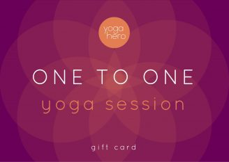 Yoga Hero Gift Voucher One to One Yoga Session