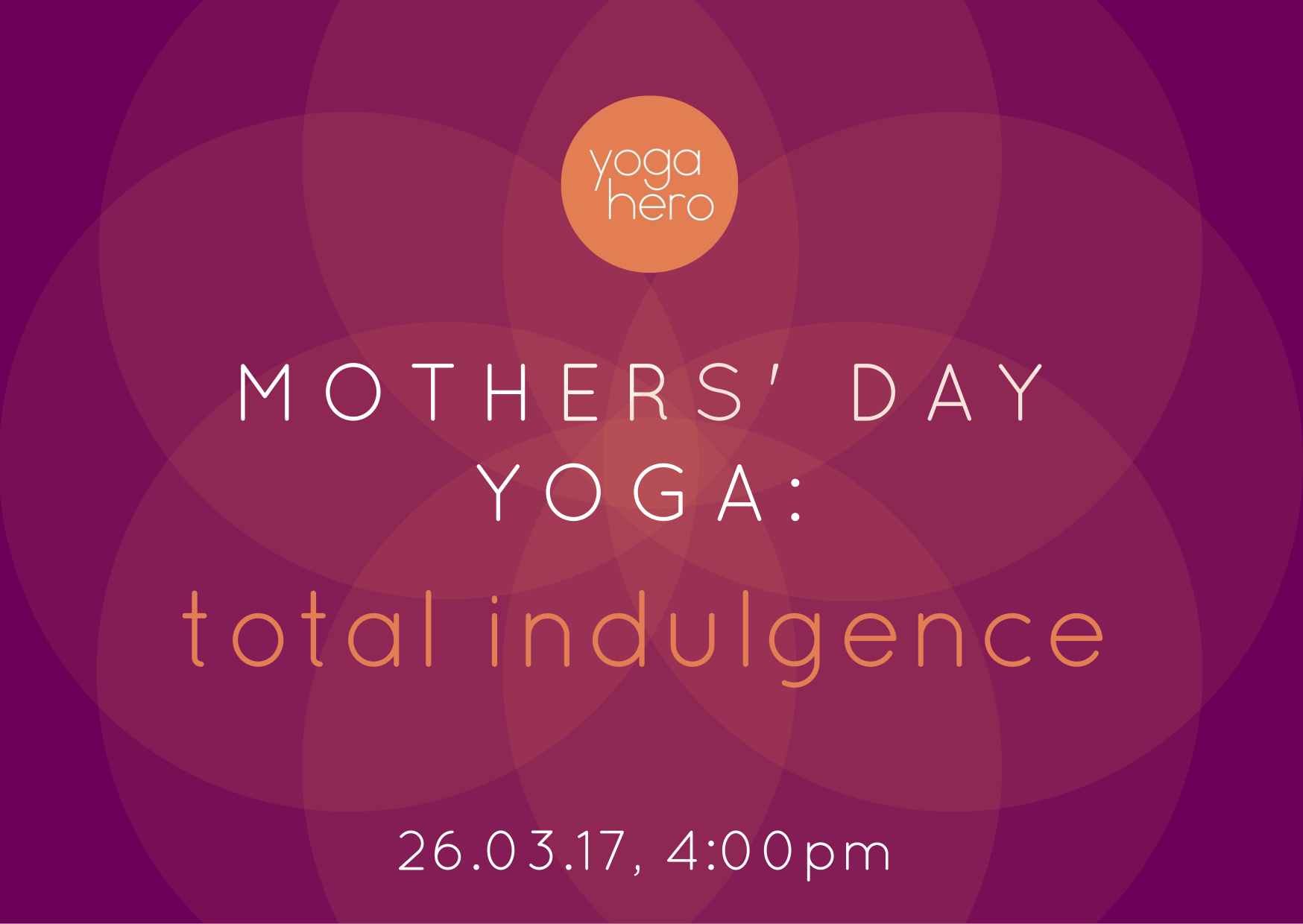 Mothers' Day Yoga Session