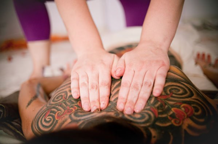 Ayurvedic Yoga Massage Workshop - Back and Shoulders