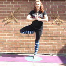 Zoe Gilbert Tree Pose Yoga Leeds