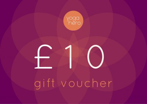 Yoga Hero Gift Voucher £10