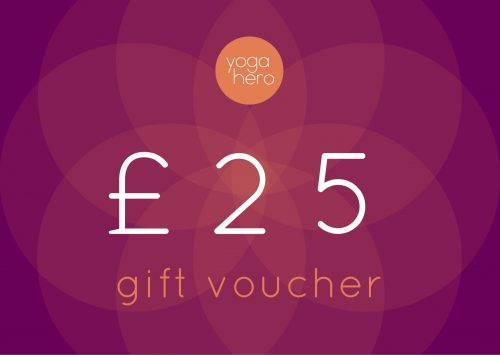 Yoga Hero Gift Voucher £25