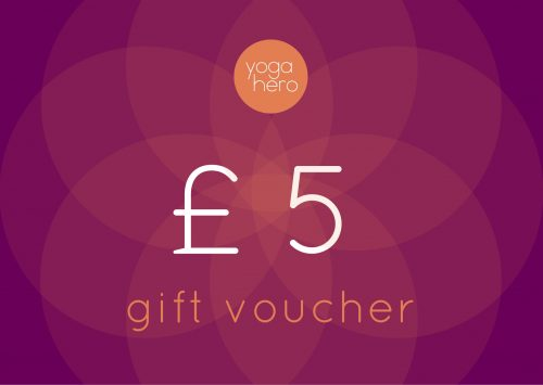 Yoga Hero Gift Voucher £5