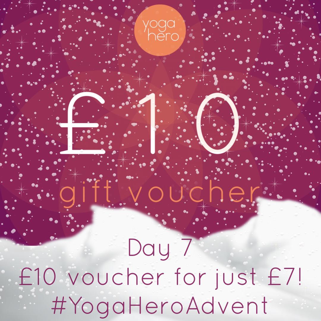 Yoga Hero Advent Day 7