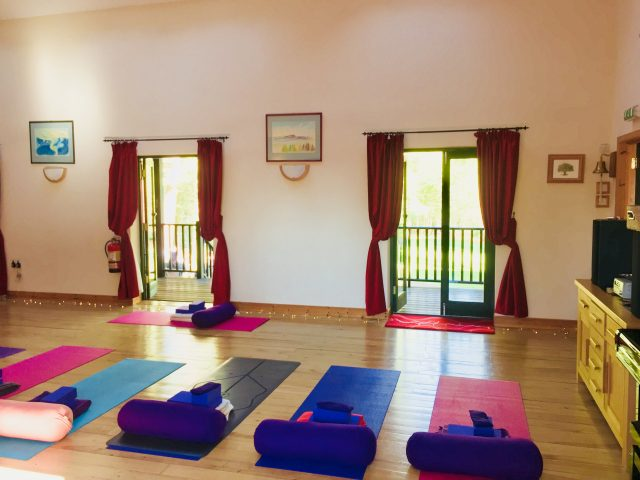 Yoga Hero Retreat Yoga Room