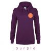 PURPLE hooded sweatshirt