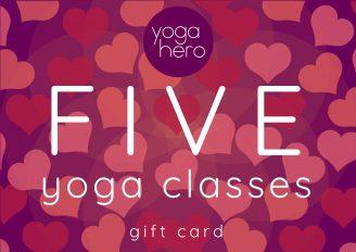 Five class voucher Valentines