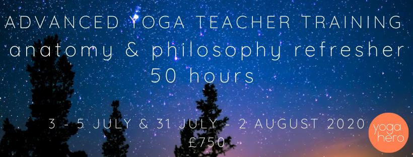 Advanced Yin Yoga Teacher Training Anatomy Philosophy Header