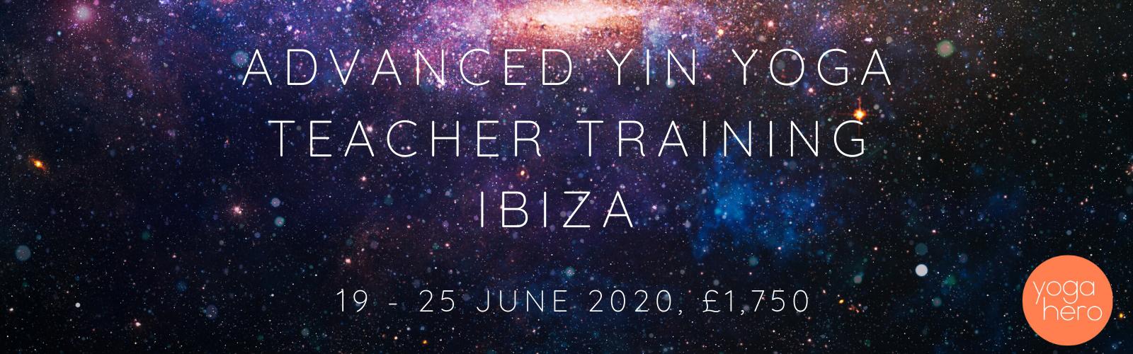 Advanced Yin Yoga Teacher Training, Ibiza