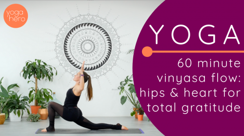 Vinyasa Flow: Hips & Heart for Total Gratitude