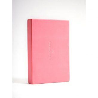 Yoga block hot pink