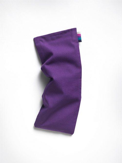 Yoga eye pillow purple